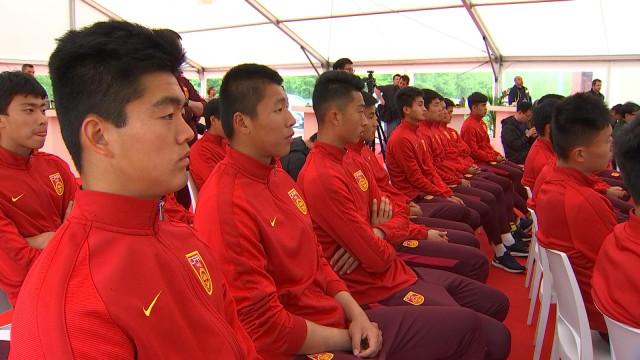 Le football chinois monte en puissance au Standard