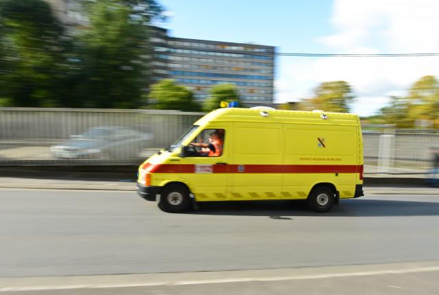 Une ambulance et un smur accidentés à Soumagne