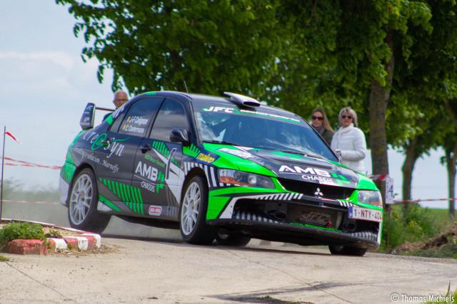 Colignon, premier Prince du Rallye de la Principauté