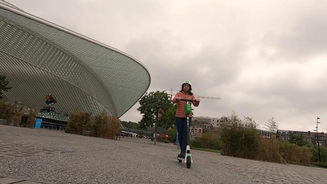 Les trottinettes électriques en location débarquent à Liège !