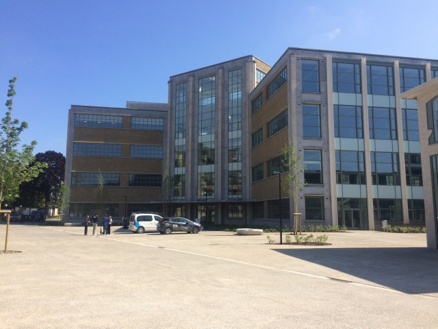 Le campus devenu quartier