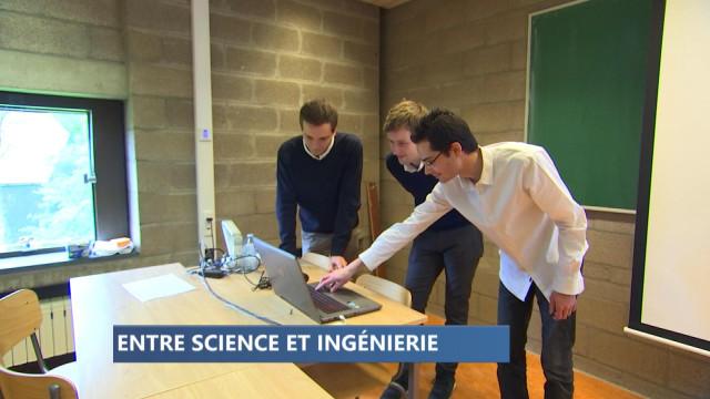 Des étudiants testent le numérique au service de la science