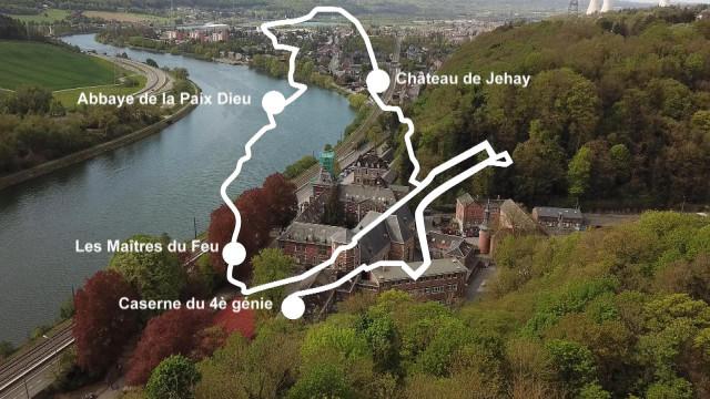 31 kilomètres à vélo pour découvrir le patrimoine d'Amay