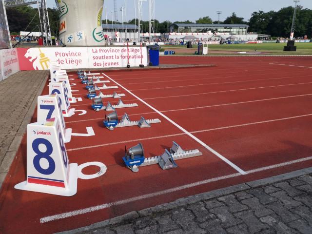 Les résultats du Meeting International d'Athlétisme de la Province de Liège