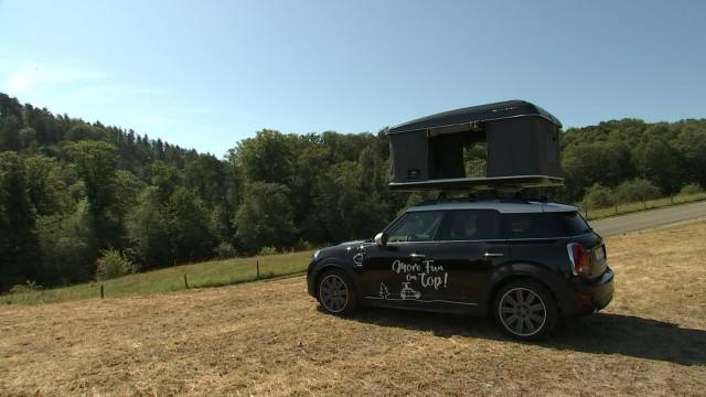 Logement insolite à louer : une Mini-tente