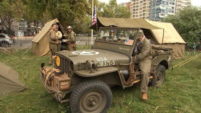 Un camp militaire américain pour commémorer la libération de Liège