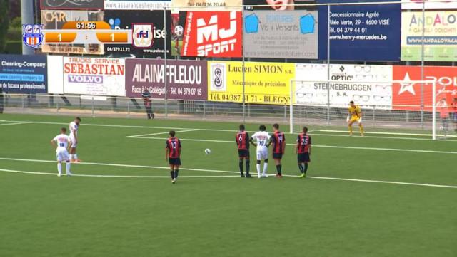 Visé remporte le derby contre Liège