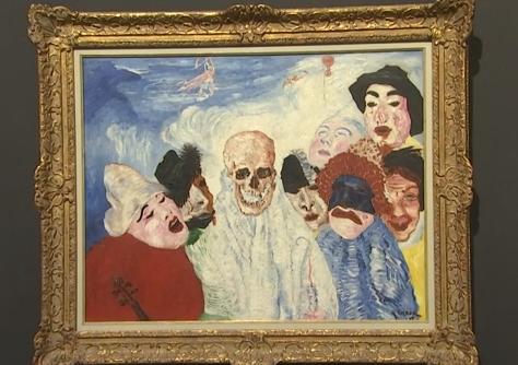 Liège chefs d'oeuvre: La mort et les masques (J.Ensor)