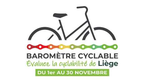 Liège : premier baromètre cyclable
