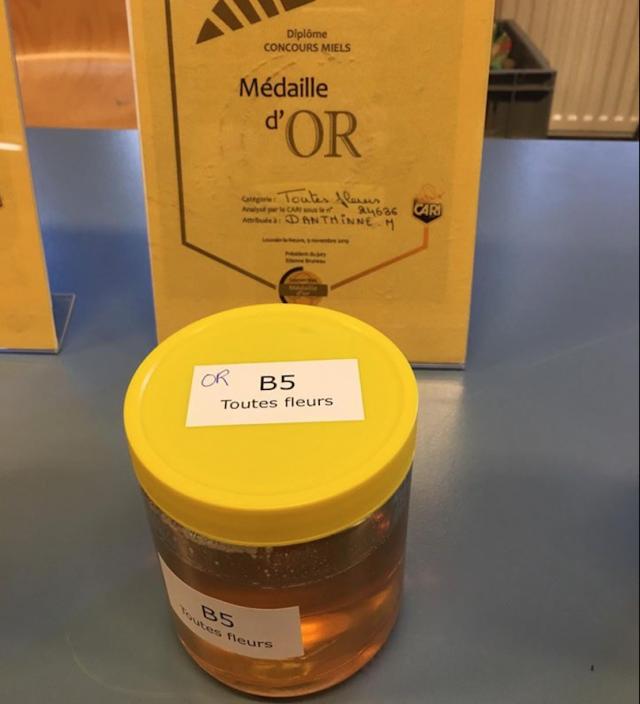 De l'or pour le miel de l'hôpital !