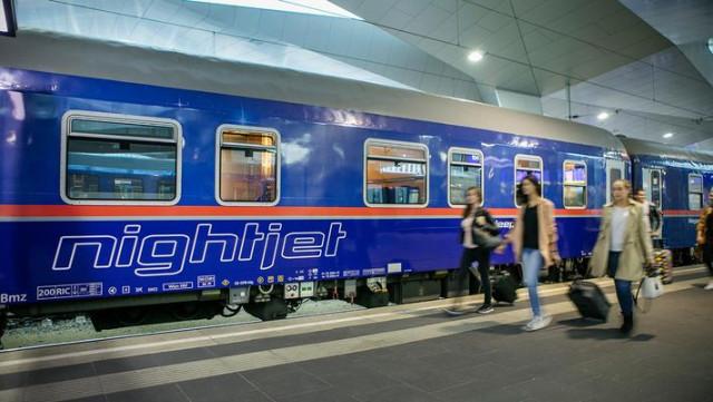 Train de nuit passant par Liège vers l'Autriche : les tarifs