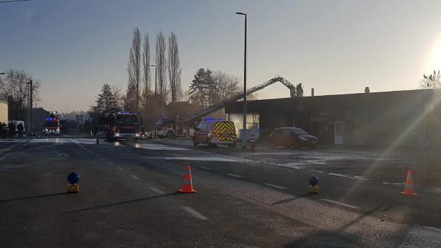 Incendie d'un restaurant et d'une taverne à Glons