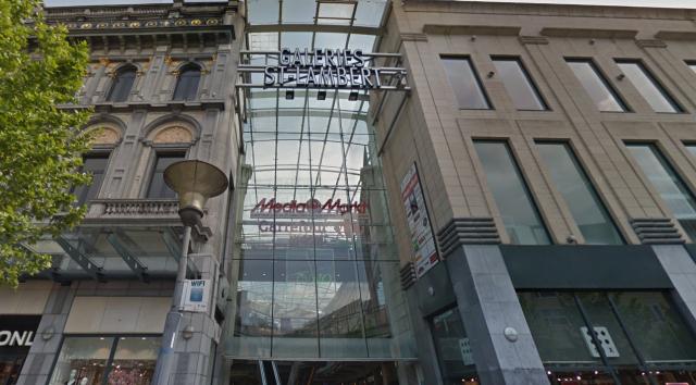 Les galeries Saint-Lambert évacuées ce jeudi après-midi