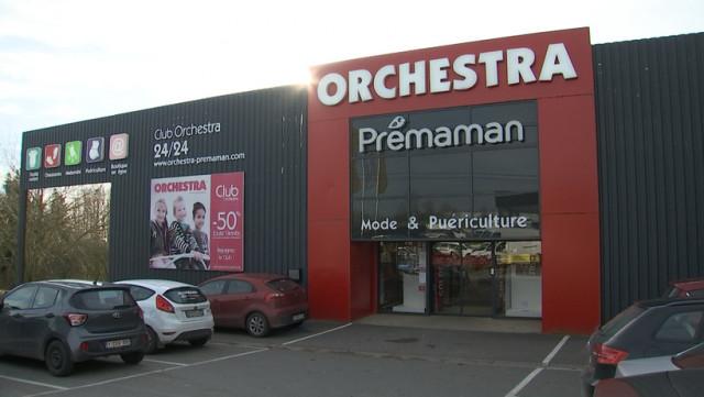 Orchestra  va encore fermer 5 magasins en province de Liège