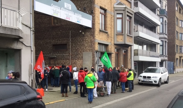 Les travailleurs de JEFAR en grève