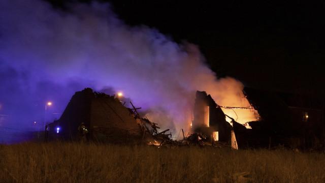 Explosion à Saint-Georges-sur-Meuse
