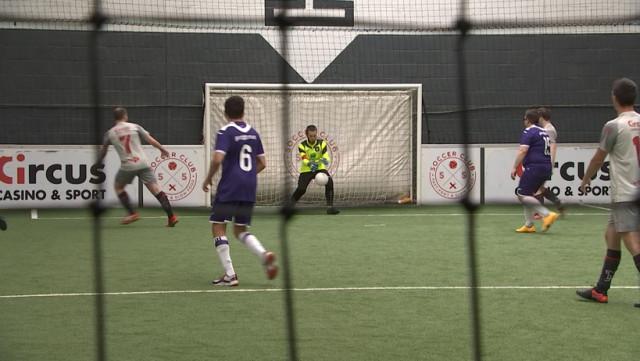 Un Clasico belge de cécifoot au Soccer Club de Sclessin