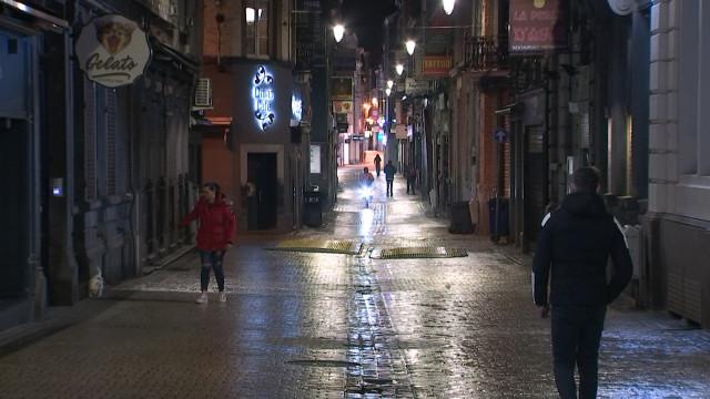 Covid-19 : le Centre de Liège aux allures de ville fantôme