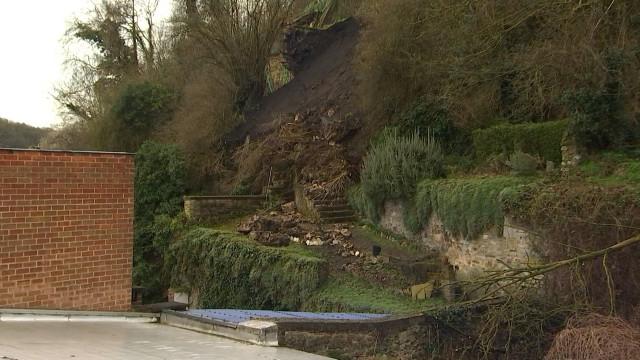 Glissement de terrain à Huy : les locataires peuvent regagner leur domicile