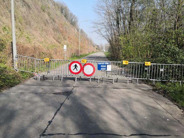 Frontière avec les Pays-Bas fermée à Visé