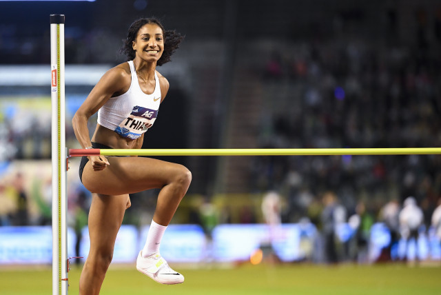 Nafi Thiam, athlète européenne du mois de mars