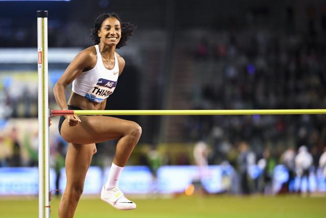 Nafi Thiam, athlète européenne du mois de mars