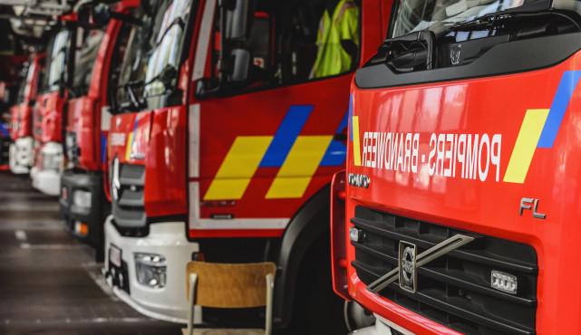3.000 mètres carrés d'un bois détruits par les flammes à Marchin