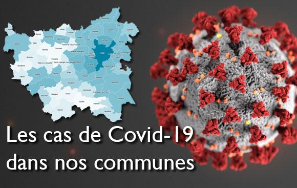 Cas COVID-19 confirmés au 18 mai 2020