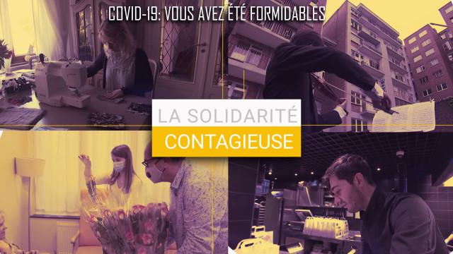 La Solidarité Contagieuse, quand les Liégeois s'entraident face au Covid19