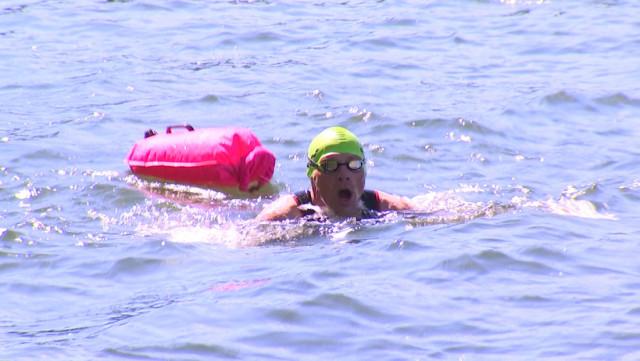 Les nageurs du Cool Huy sont de retour dans la Meuse