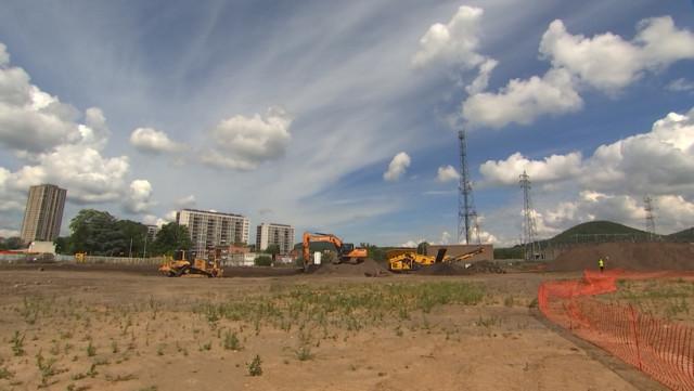 Droixhe: dépollution du futur site de la Foire Internationale de Liège