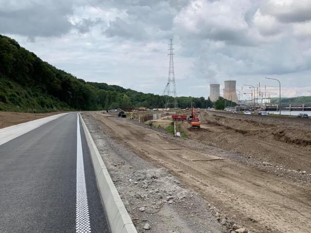 TIhange : la route laissera la place à la Meuse