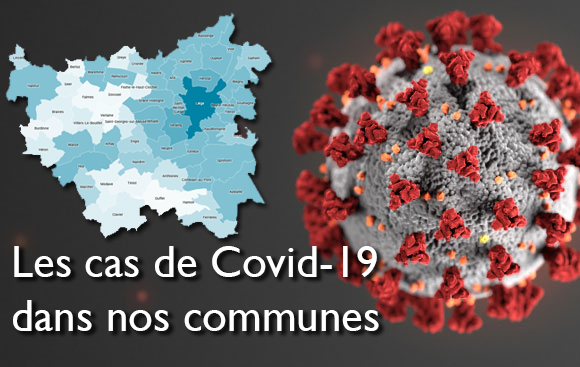 Cas COVID-19 confirmés au 19 juin 2020
