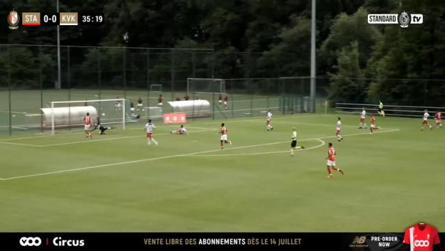 Un début de préparation satisfaisant au Standard de Liège