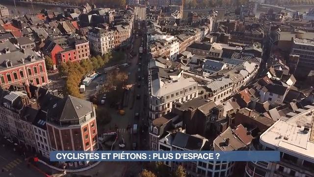 Cyclistes et piétons à Liège : Plus d'espace ?