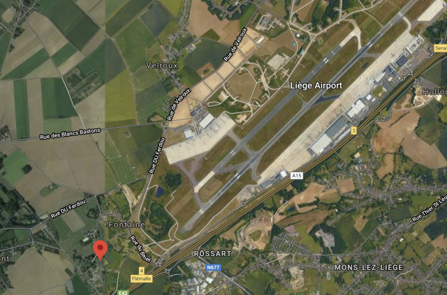 """Aéroport de Liège : les 33 hectares de la zone """"Fontaine"""" aménagés d'ici 2023"""