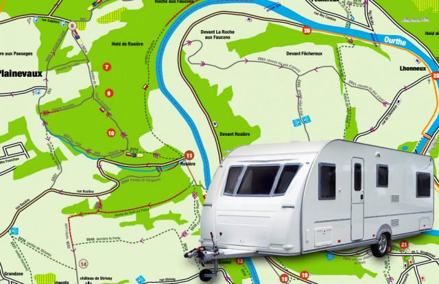 Esneux : 75 caravanes ont 48 heures pour évacuer