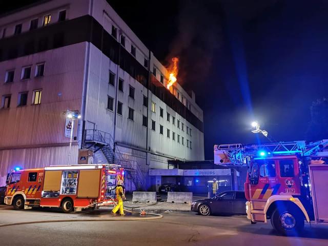 """Liège : incendie à la MRS """"Résidence Aurore"""""""