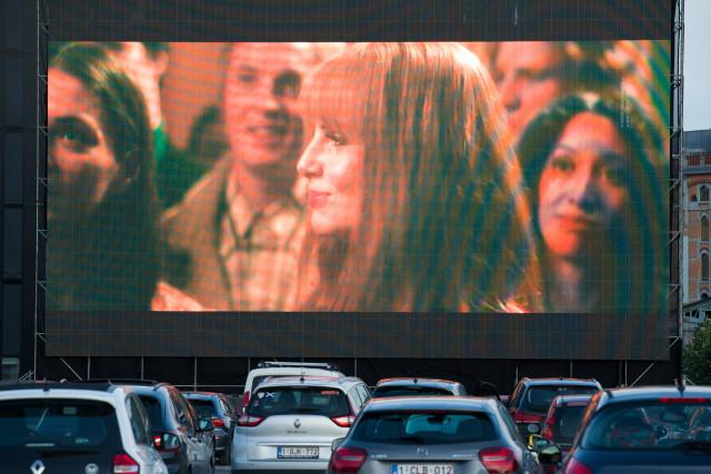 Une offre de cinéma drive-in élargie à Liège