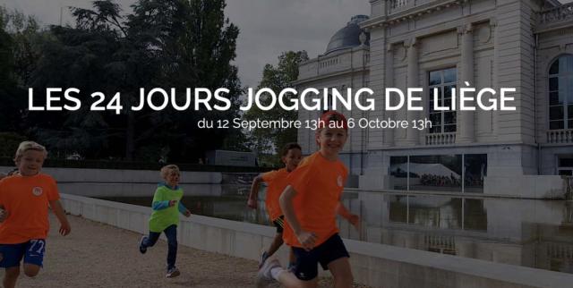 Lancement des 24 jours Jogging de Liège