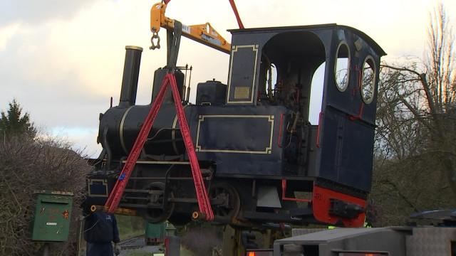 Une nouvelle chaudière pour une locomotive de Sprimont