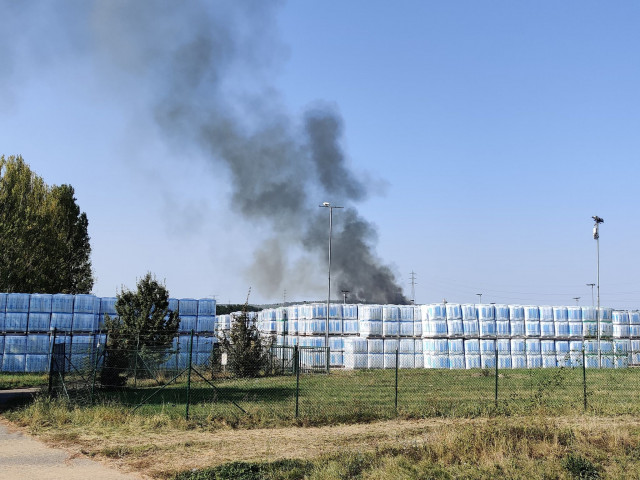 Un incendie s'est déclenché sur le site de l'usine visétoise de laine de verre Knauf Insulation