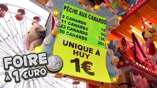 Huy : la foire à 1 € est annulée elle aussi !