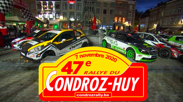 Pas de 47ème édition du Rallye du Condroz