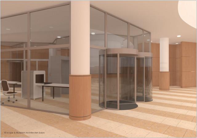 La Régie des Bâtiments installe un système d'accès sécurisé permanent au palais de Justice de Liège