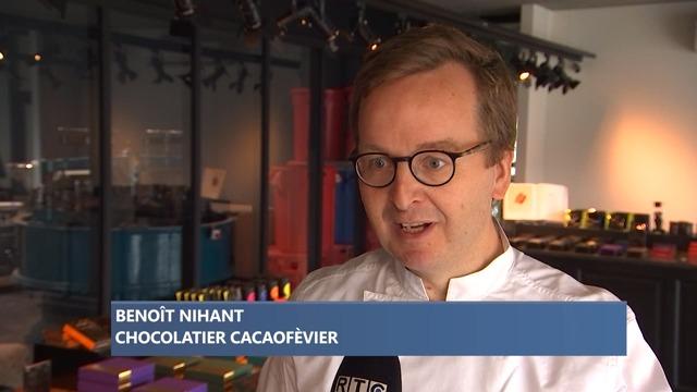 Benot Nihant célébré Chocolatier de l'Année 2021 pour la Wallonie