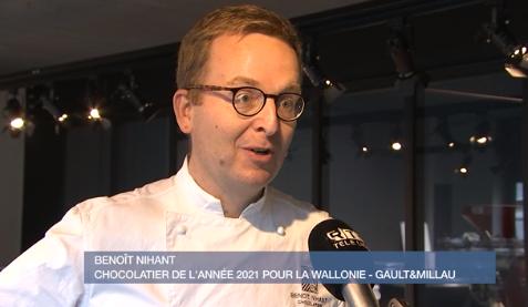 """Invité : Benoît Nihant, """"Chocolatier of the Year"""" pour la Wallonie selon Gault & Millau"""