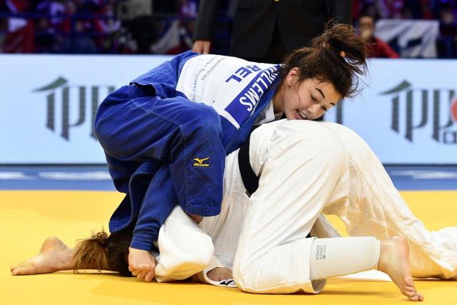 Judo : Gabriella Willems battue d'entrée de jeu à Budapest