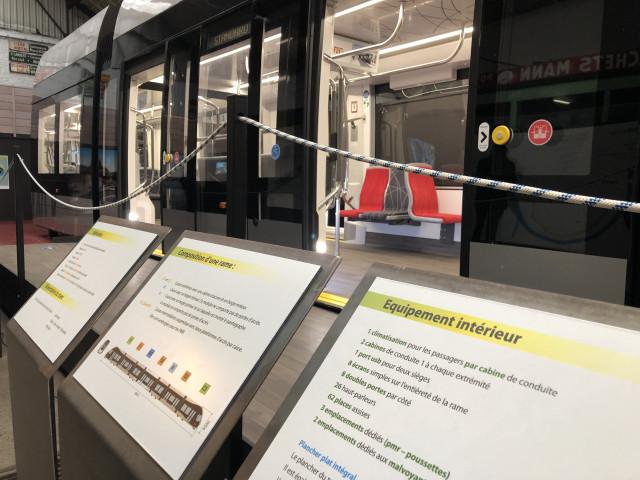 Tram En Commun S3#7 : Exposition Ams Tram Gram