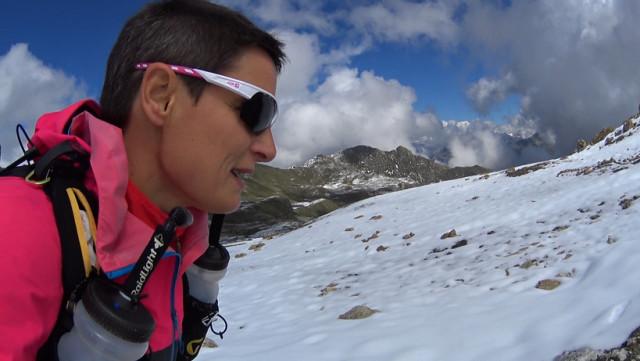 Virginie Humblet s'est mesurée aux cimes de Suisse